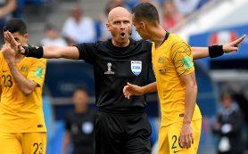 Сергей Карасев показал шесть желтых карточек в матче Австралия — Перу