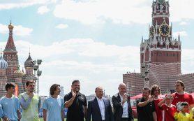 Инфантино: ЧМ-2018 меняет представление о России