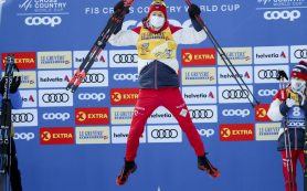 Александр Большунов выиграл «Тур де Ски»