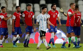 Сборные Аргентины и Чили сыграли вничью на Кубке Америки